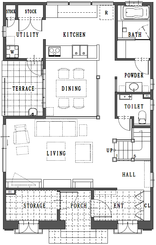 FloorPlan 1st FLOOR