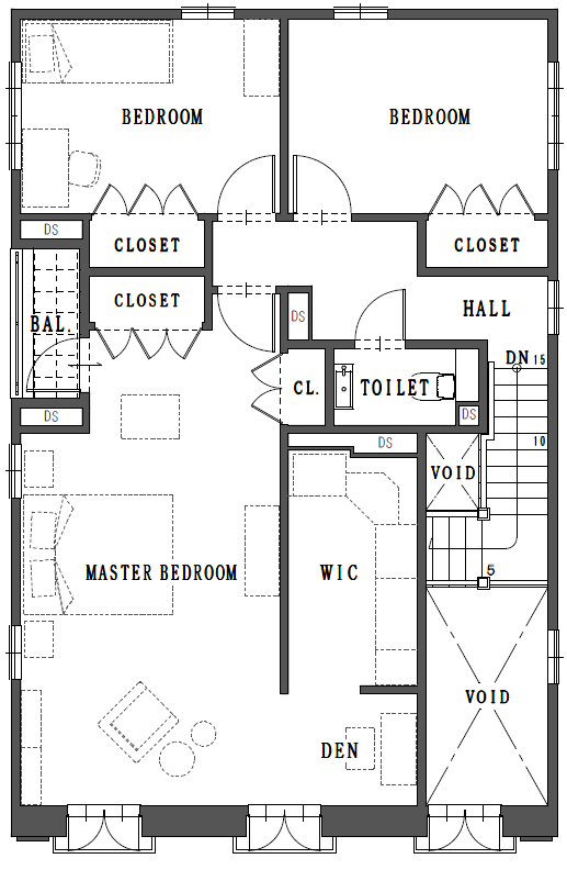 FloorPlan 2nd FLOOR